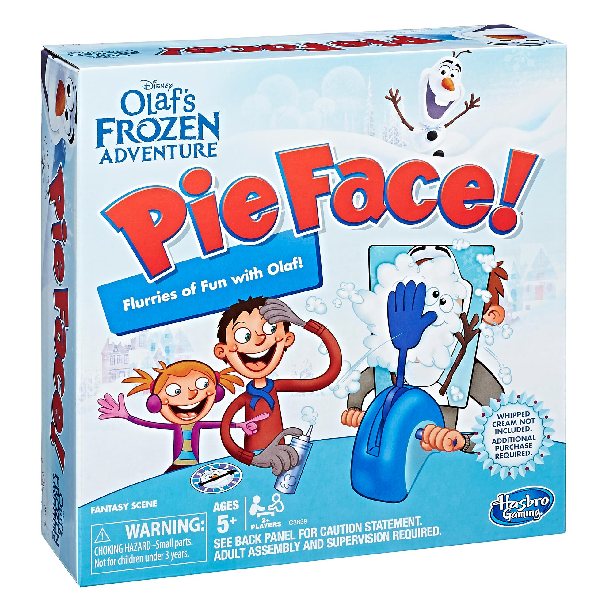 Pie Face: Disney Olaf's Frozen Edition