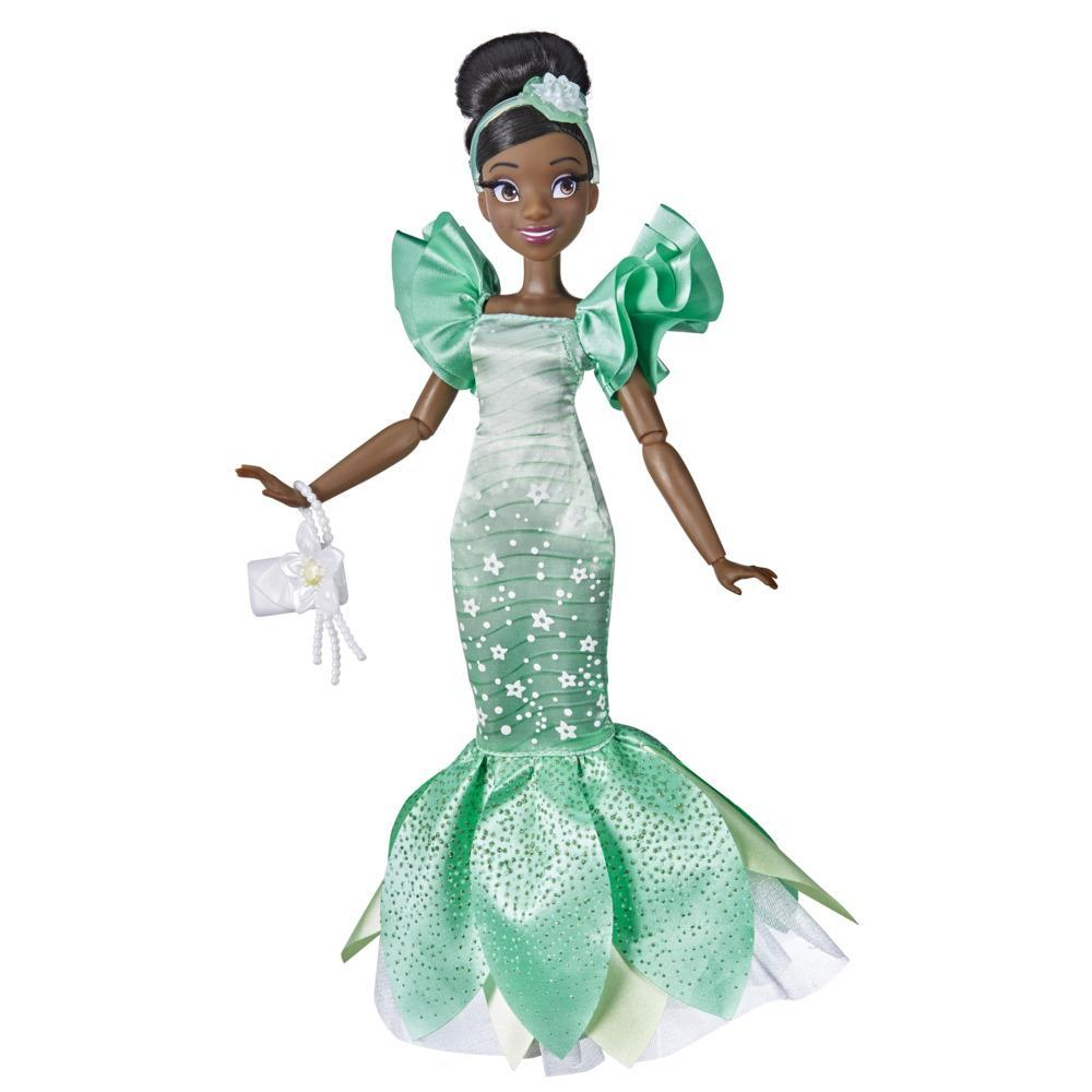 Disney Princess Style Series 09 Tiana, Contemporary Style Fashion Doll, Clothes and Accessories, Toy for Girls 6 and Up