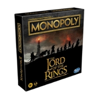Monopoly: The Lord of the Rings Edition Board Game for Kids Ages 8 and Up