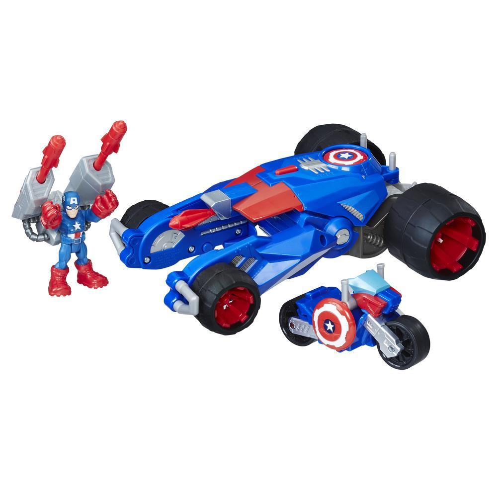 Playskool Heroes Marvel Super Hero Adventures Captain America's Victory Launcher