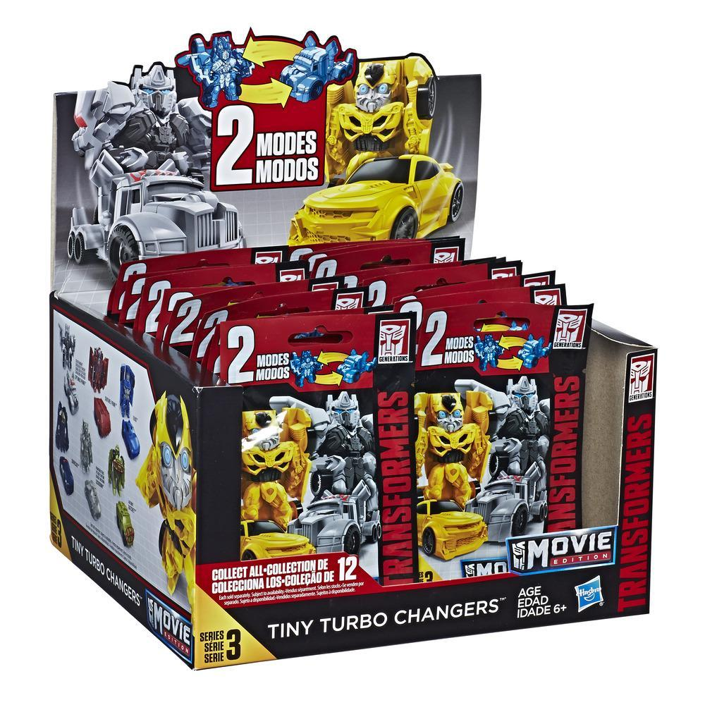 Transformers Action Figures Tiny Turbo Changers Movie Edition Series 5 Blind Bag – Toys for Kids