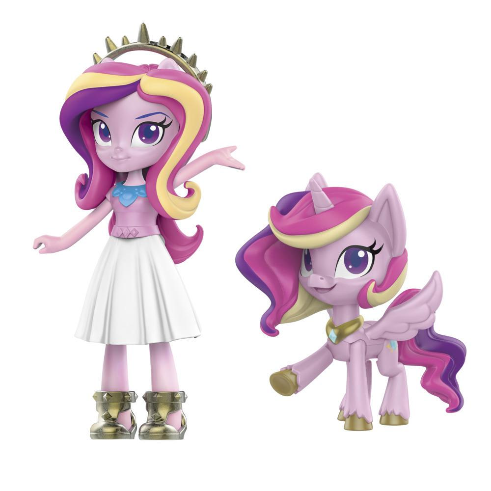 My Little Pony Equestria Girls Princess Cadance Crystal Festival -- 3-Inch Mini Doll and Pony Toy with 20 Accessories