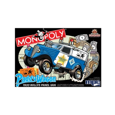 MPC 1933 Willys Panel Paddy Wagon (Monopoly) 1:25 Scale Model Kit