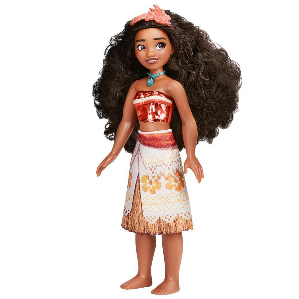 Disney Princess Royal Shimmer Vaiana Doll, Fashion Doll Clothes and Accessories, Toy for Kids Ages 3 and Up