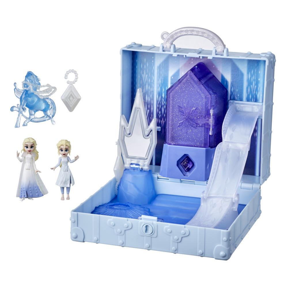 Disney's Frozen 2 Pop Adventures Ahtohallan Adventures Pop-Up Playset, 2 Elsa Dolls, Toy for Kids