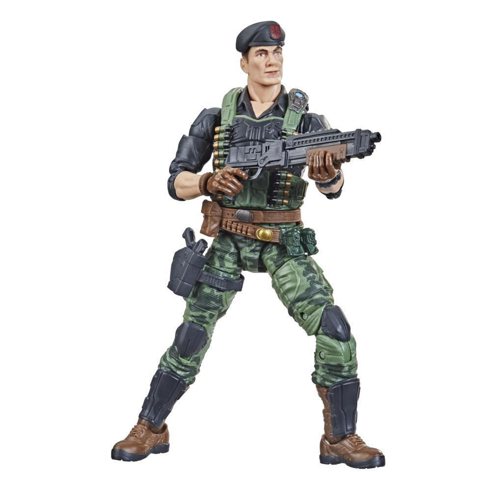 G.I. Joe Classified Series Series Flint Action Figure 26 Collectible Toy, Multiple Accessories, Custom Package Art