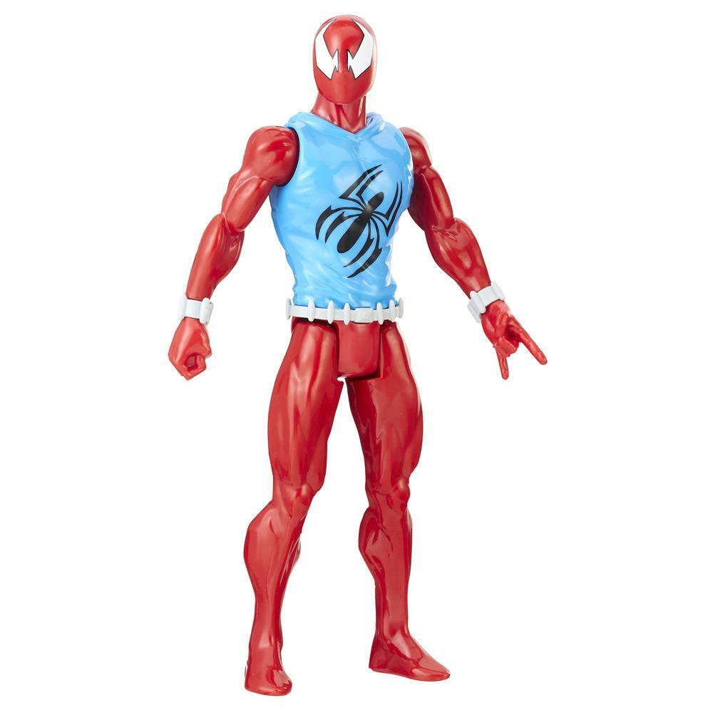 Spider-Man Titan Hero Series Web Warriors Marvel's Scarlet Spider