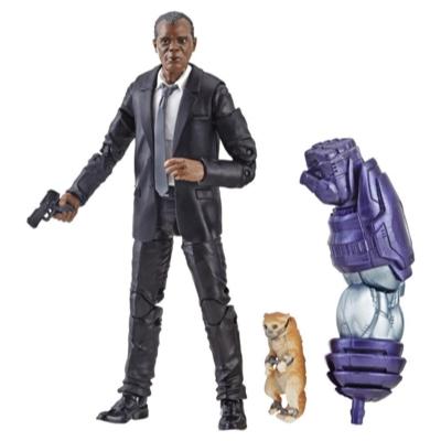 Marvel Captain Marvel 6-inch Legends Nick Fury Figure