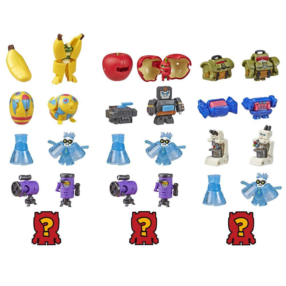 Transformers Toys BotBots Series 4 Science Alliance 5-Pack – Mystery 2-In-1 Collectible Figures - Kids Ages 5 and Up