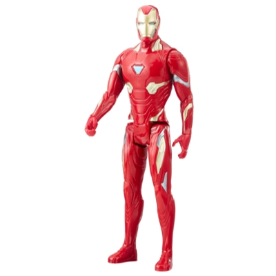 Marvel Infinity War Titan Hero Series Iron Man with Titan Hero Power FX Port