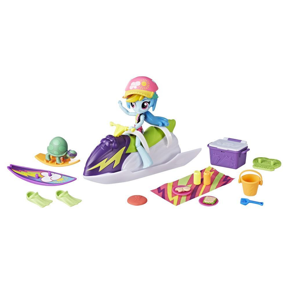 My Little Pony Equestria Girls Rainbow Dash Sporty Beach Set