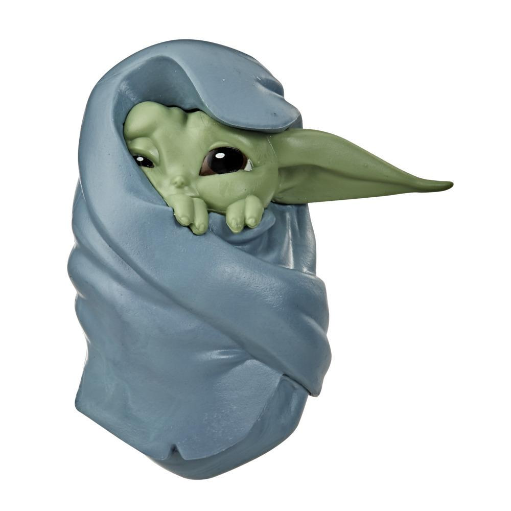 """Star Wars The Bounty Collection The Child Collectible Toy 2.2-Inch The Mandalorian """"Baby Yoda"""" Blanket-Wrapped Pose Toy"""