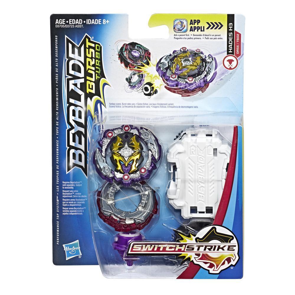 Beyblade Burst Turbo SwitchStrike Hades H3  Starter Pack