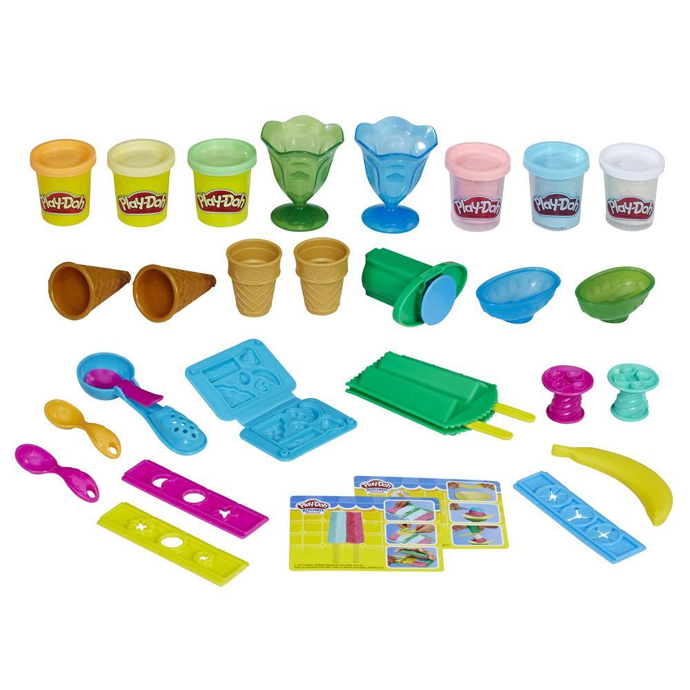 Play-Doh Kitchen Creations Ice Cream Party Set