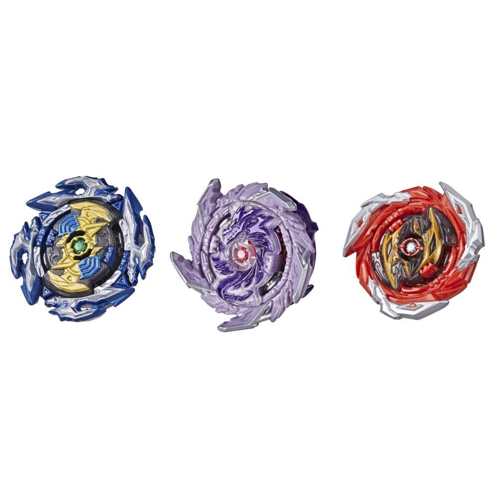 Beyblade Burst Surge Speedstorm Thunder Threat 3-Pack -- 3 Battling Game Top Toys
