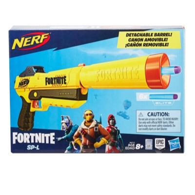 Fortnite SP-L Nerf Elite Dart Blaster Instructions