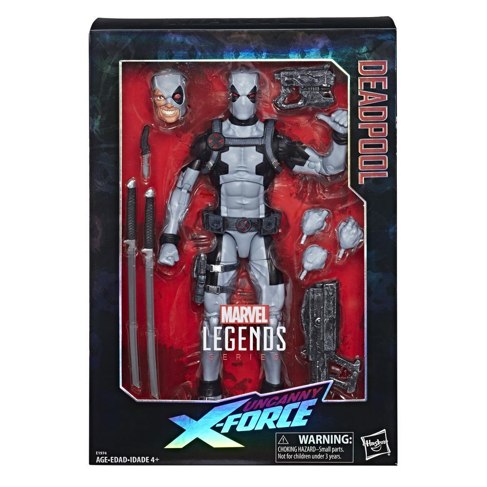 Marvel Legends Series 12-inch Deadpool Action Figure from Uncanny X-Force Marvel Comics with Blaster/Weapon Accessories and 30 Points of Articulation