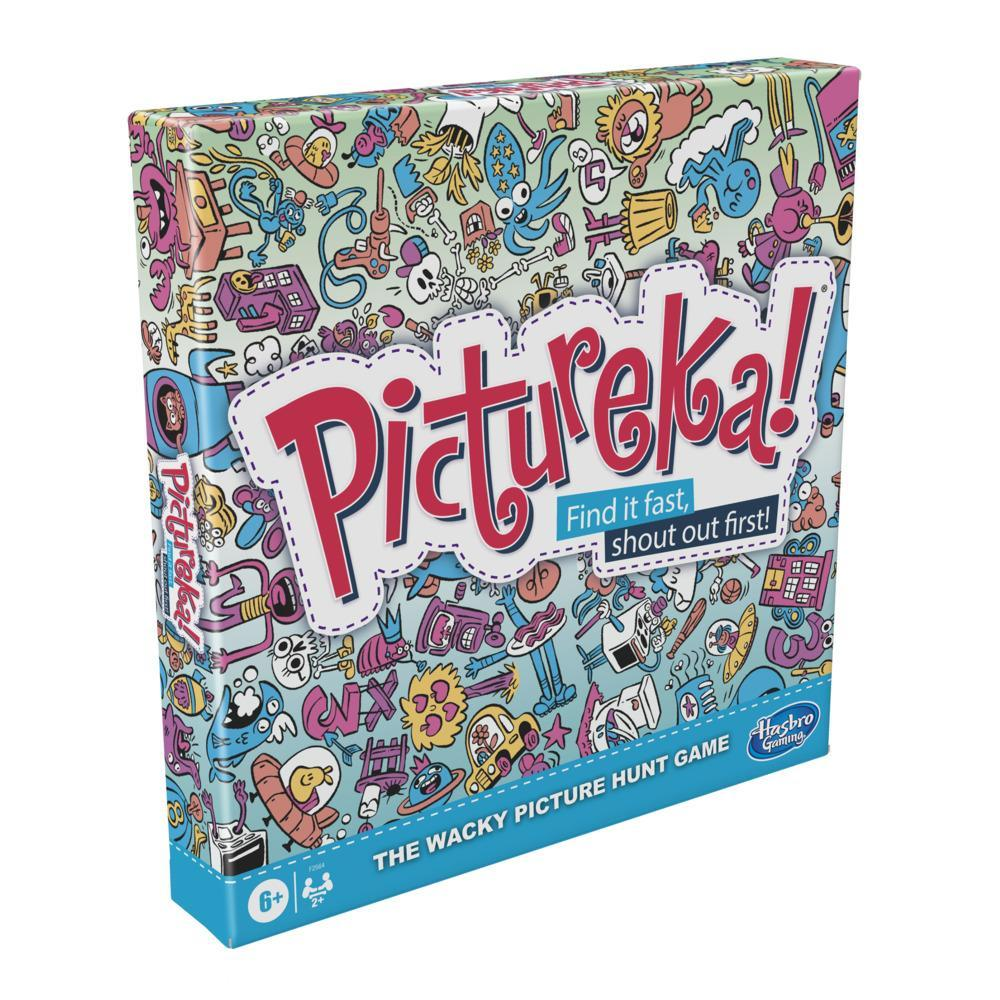 Pictureka! Game, Picture Game, Board Game for Kids, Fun Family Board Games, Board Games for 6 Year Olds and Up