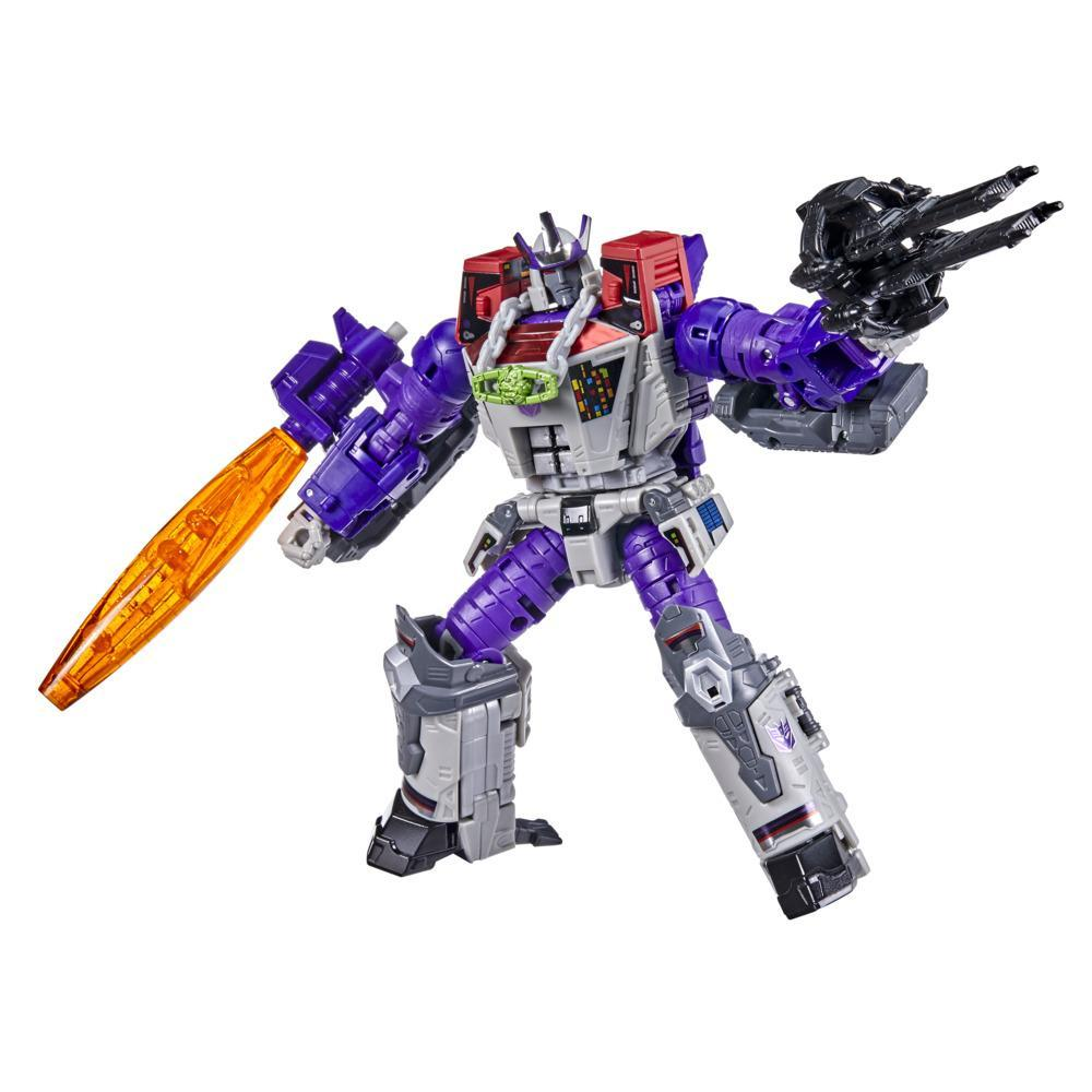 Transformers Generations Selects WFC-GS27 Galvatron, War for Cybertron Leader Class Collector Figure, 7-inch