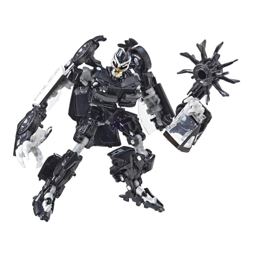 Transformers Toys Studio Series 28 Deluxe  Movie 1 Barricade Action Figure