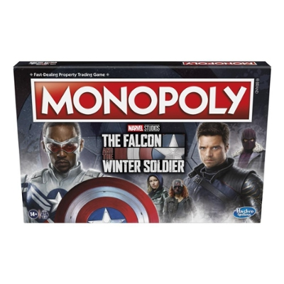 Monopoly: Marvel Studios' The Falcon and the Winter Soldier Edition Board Game for 2-6 Players for Ages 14 and Up