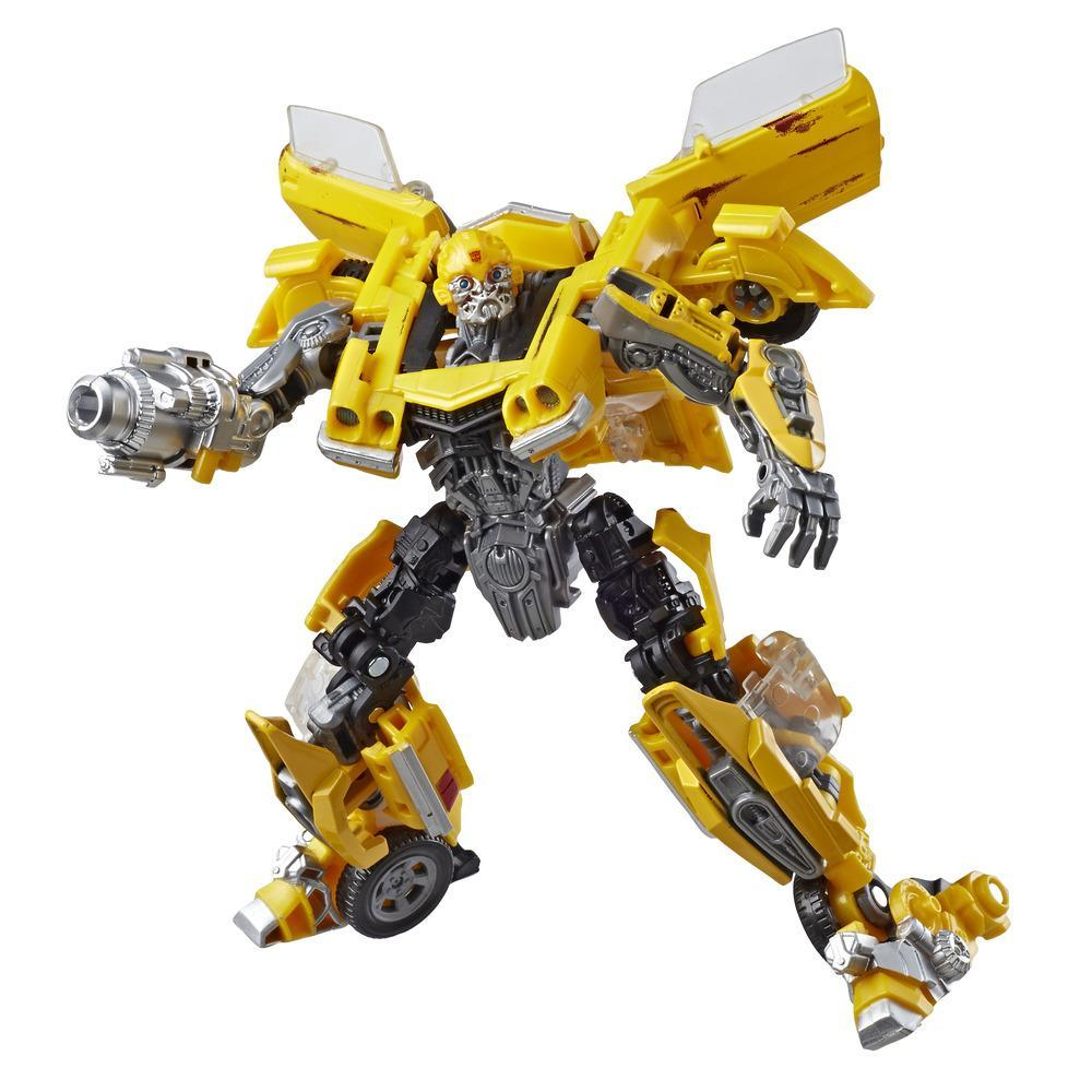 Transformers Toy Studio Series 27 Deluxe Movie 1 Clunker Bumblebee Action Figure
