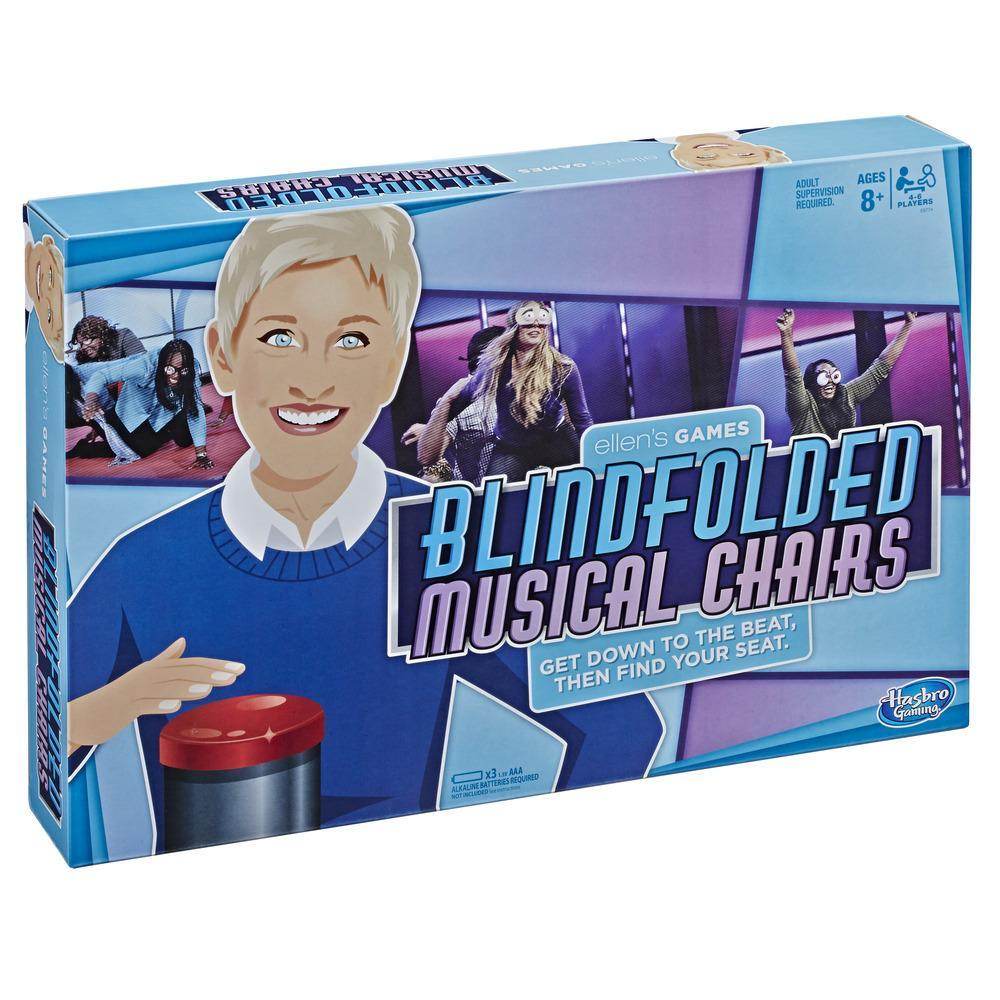 Ellen's Games Blindfolded Musical Chairs Game; Ellen DeGeneres Game