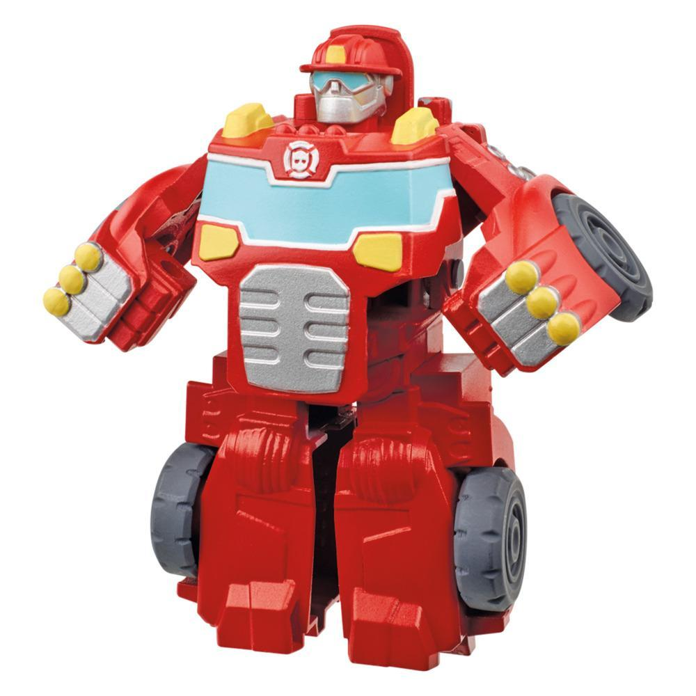 Transformers Rescue Bots Academy Classic Heroes Team Heatwave the Fire-Bot Converting Toy, 4.5-Inch Figure, Kids Ages 3 and Up