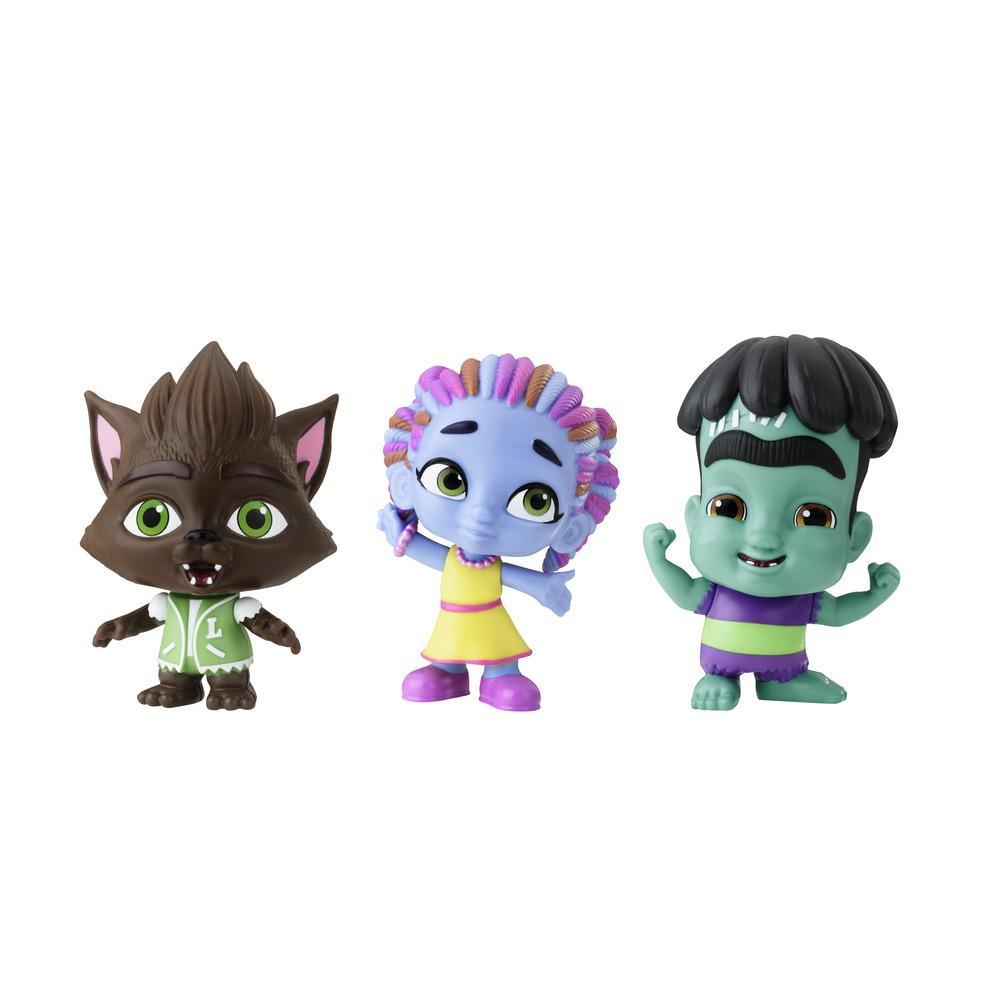 Netflix Super Monsters Set of 3 Collectible 4-inch Figures