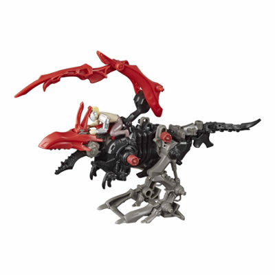 Zoids Mega Battlers Rapterrix - Velociraptor-Type Buildable Beast Figure, Wind-Up Motion - Kids Toys Ages 8 and Up, 27 Pieces
