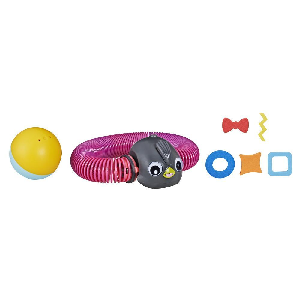 Zoops Electronic Twisting Zooming Climbing Toy Fancy Penguin Pet Toy