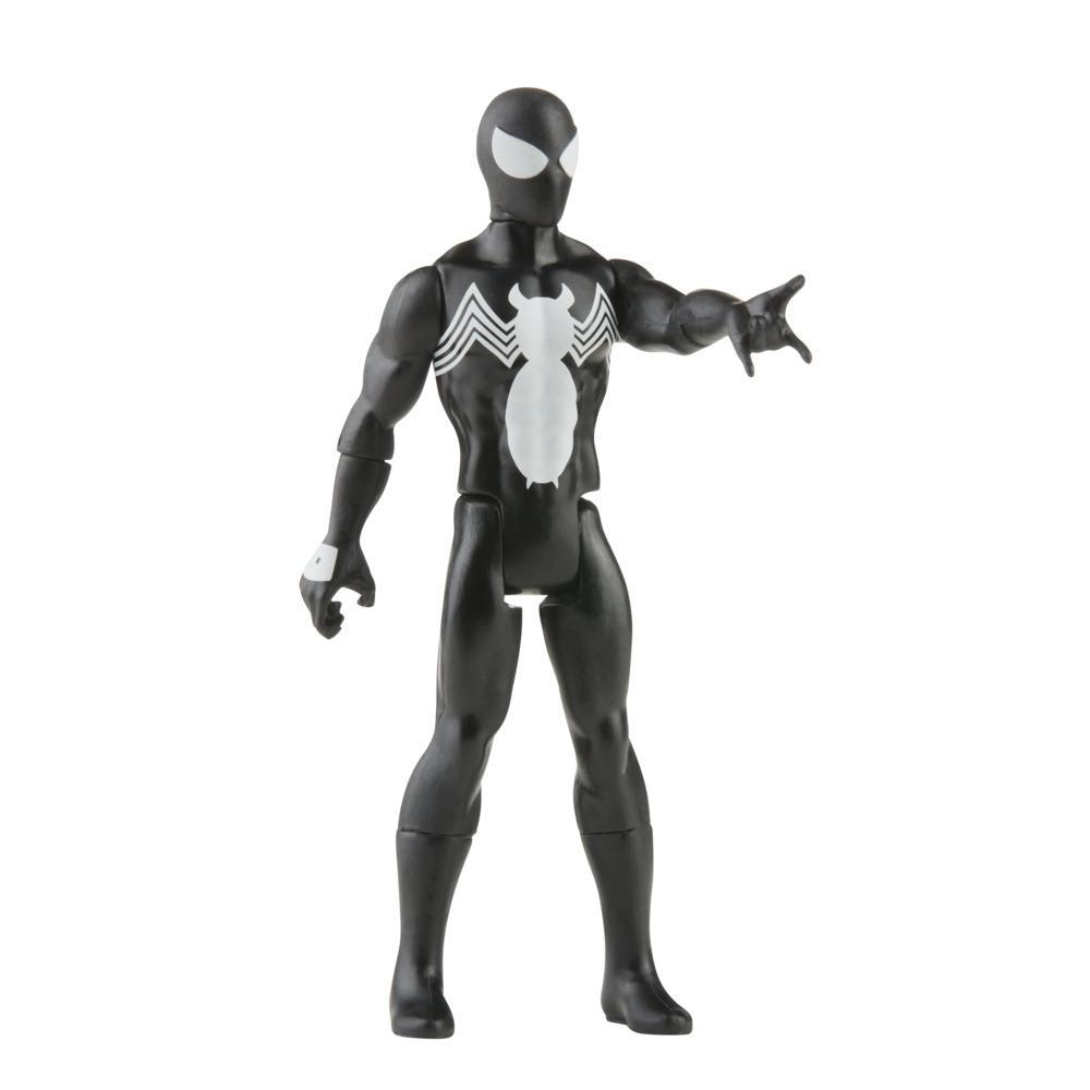 Hasbro Marvel Legends Series 3.75-inch Retro 375 Collection Symbiote Spider-Man Action Figure Toy