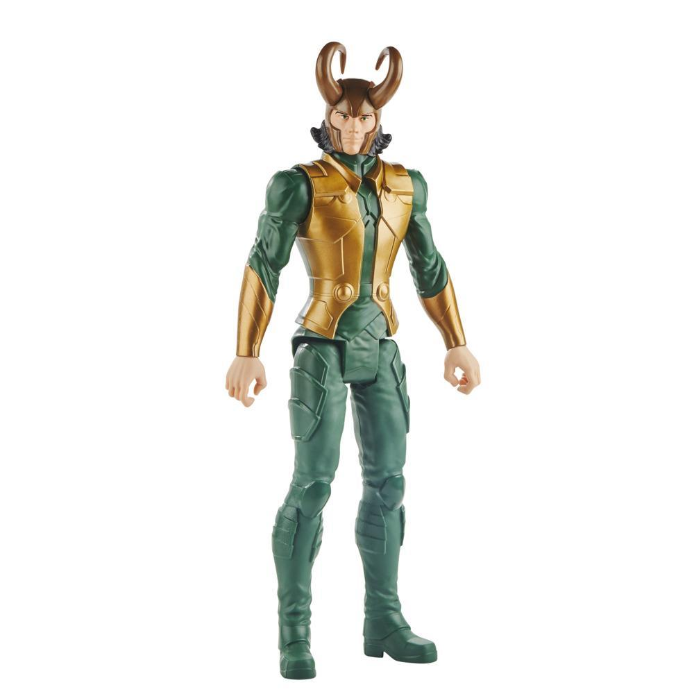 Marvel Avengers Titan Hero Series Blast Gear Loki Action Figure, 12-Inch Toy, For Kids Ages 4 And Up