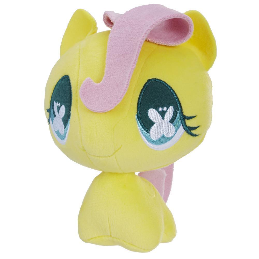 My Little Pony Fluttershy Cutie Mark Bobble Plush