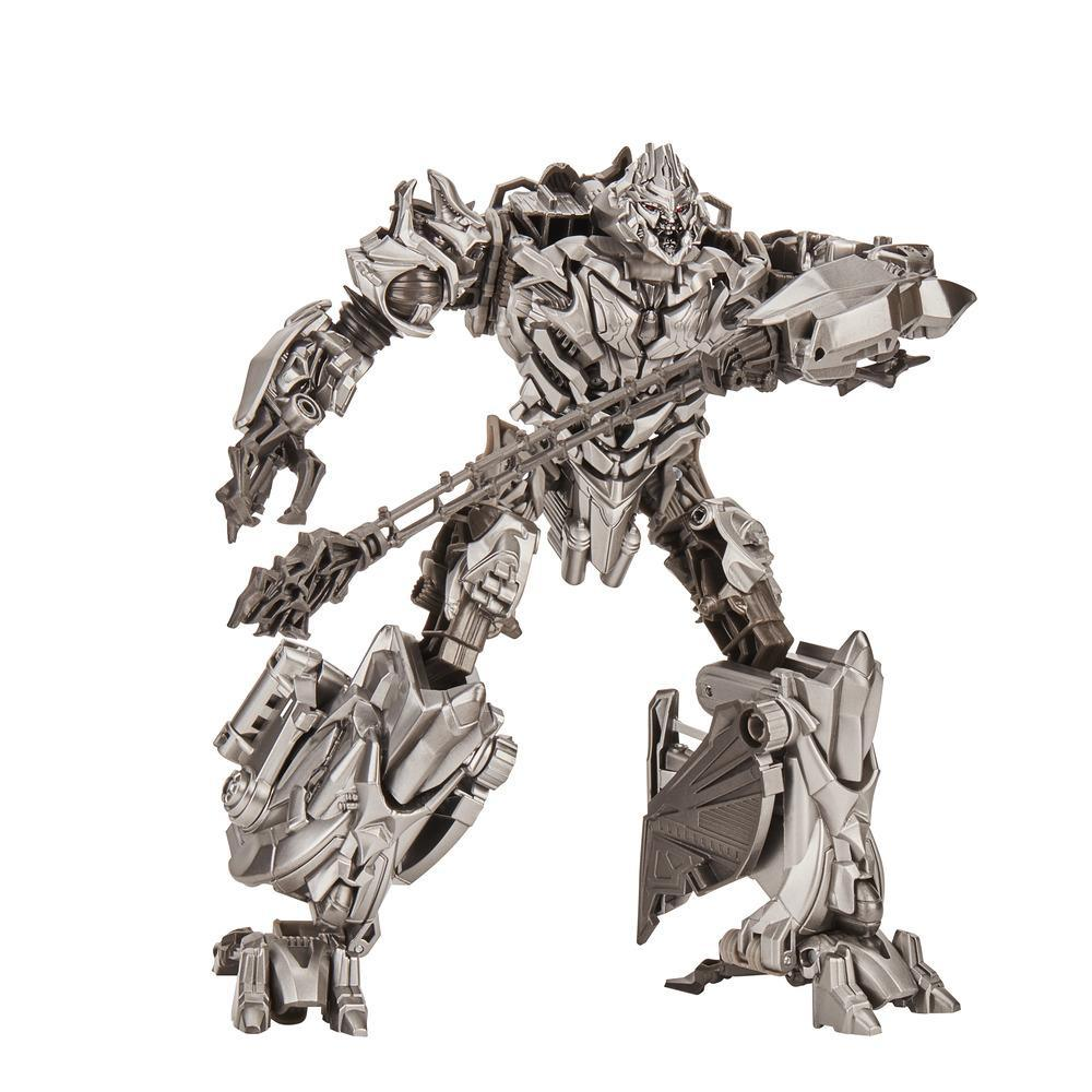 Transformers Toys Studio Series 54 Voyager Class Transformers Movie 1 Megatron Action Figure - Ages 8 and Up, 6.5-inch
