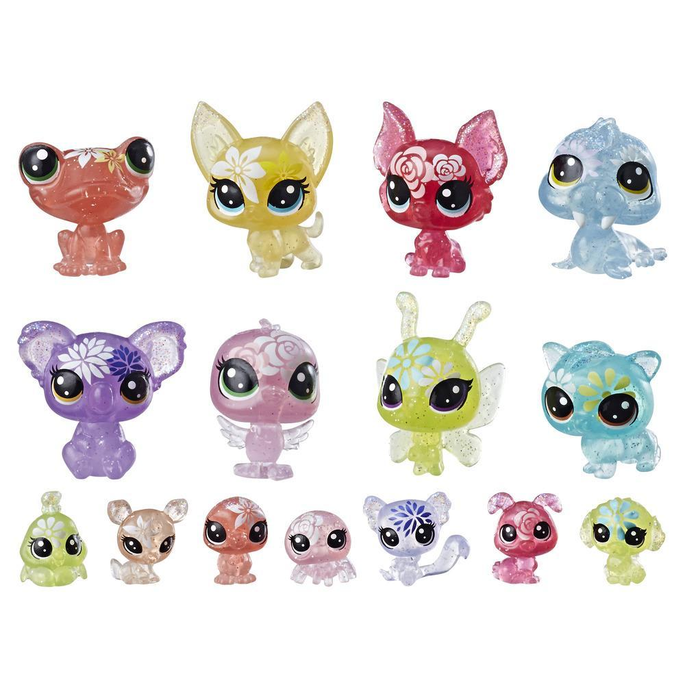 Littlest Pet Shop Blooming Bouquet, 16 pets (LPS Petal Party Collection)