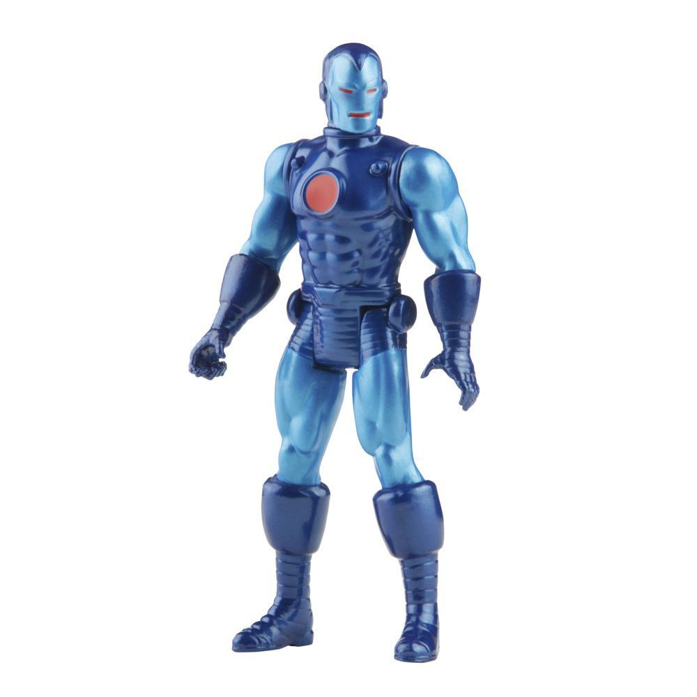 Hasbro Marvel Legends Series 3.75-inch Retro 375 Collection Stealth Suit Iron Man Action Figure Toy