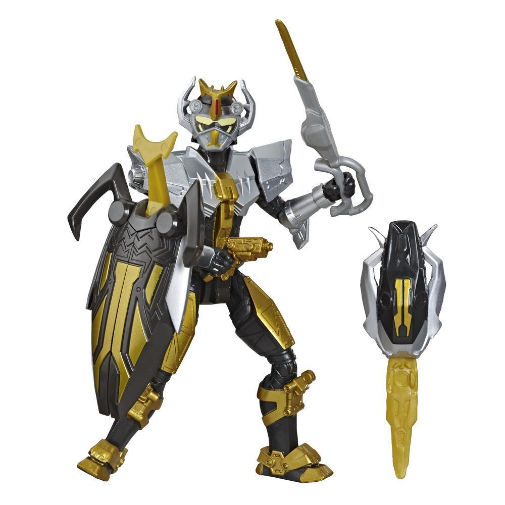 Power Rangers Beast Morphers Steel Robot Ranger Action Figure