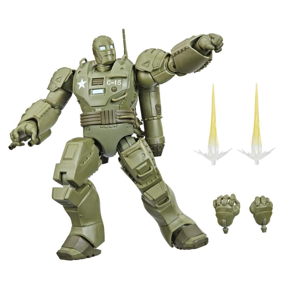 Marvel Legends Series 6-inch Scale Action Figure The Hydra Stomper Toy, Premium Design, 6-Inch Scale Figure Figure, Backpack, 4 Accessories