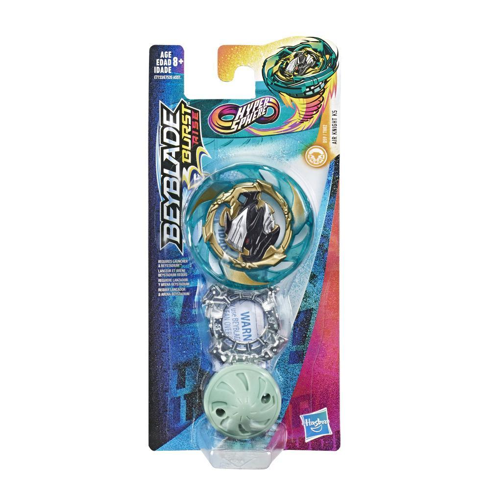 Beyblade Burst Rise Hypersphere Air Knight K5 Single Pack -- Stamina Type Battling Top Toy, Ages 8 and Up