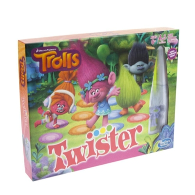 Twister Game: DreamWorks Trolls Edition