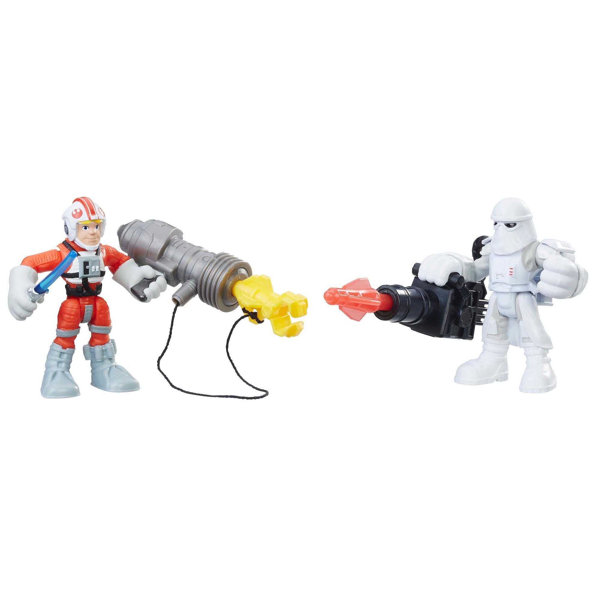 Star Wars Galactic Heroes Luke Skywalker and Snowtrooper