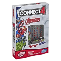 Grab and Go Connect 4 Game: Marvel Avengers Edition