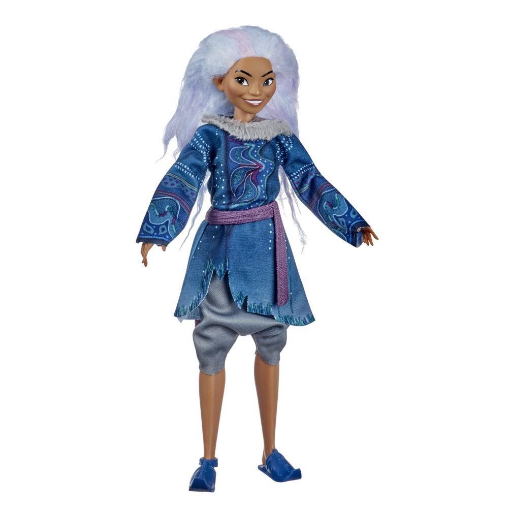 Disney Sisu Human Fashion Doll with Clothes, Inspired by Disney's Raya and the Last Dragon Movie, Toy for 3 Year Old Kids