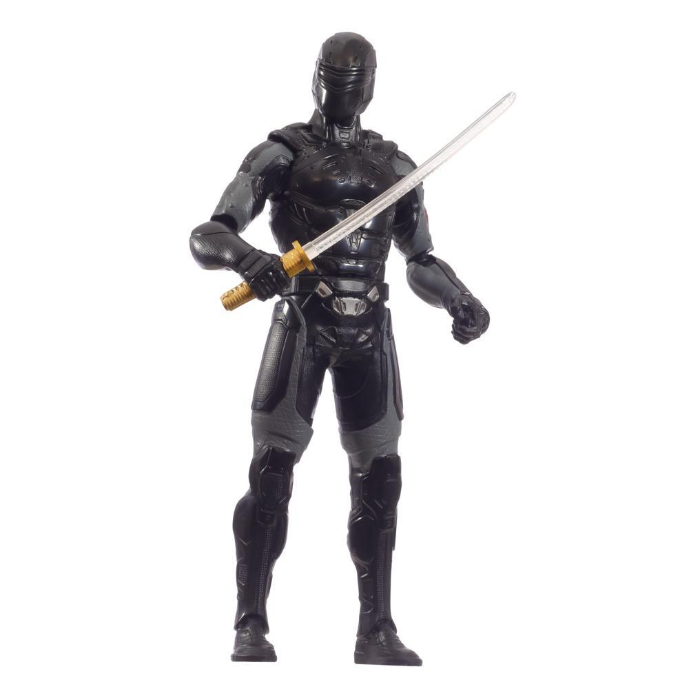Snake Eyes: G.I. Joe Origins Ninja Strike Snake Eyes Collectible 12-Inch Scale Figure with Action Feature, Ages 4 and Up