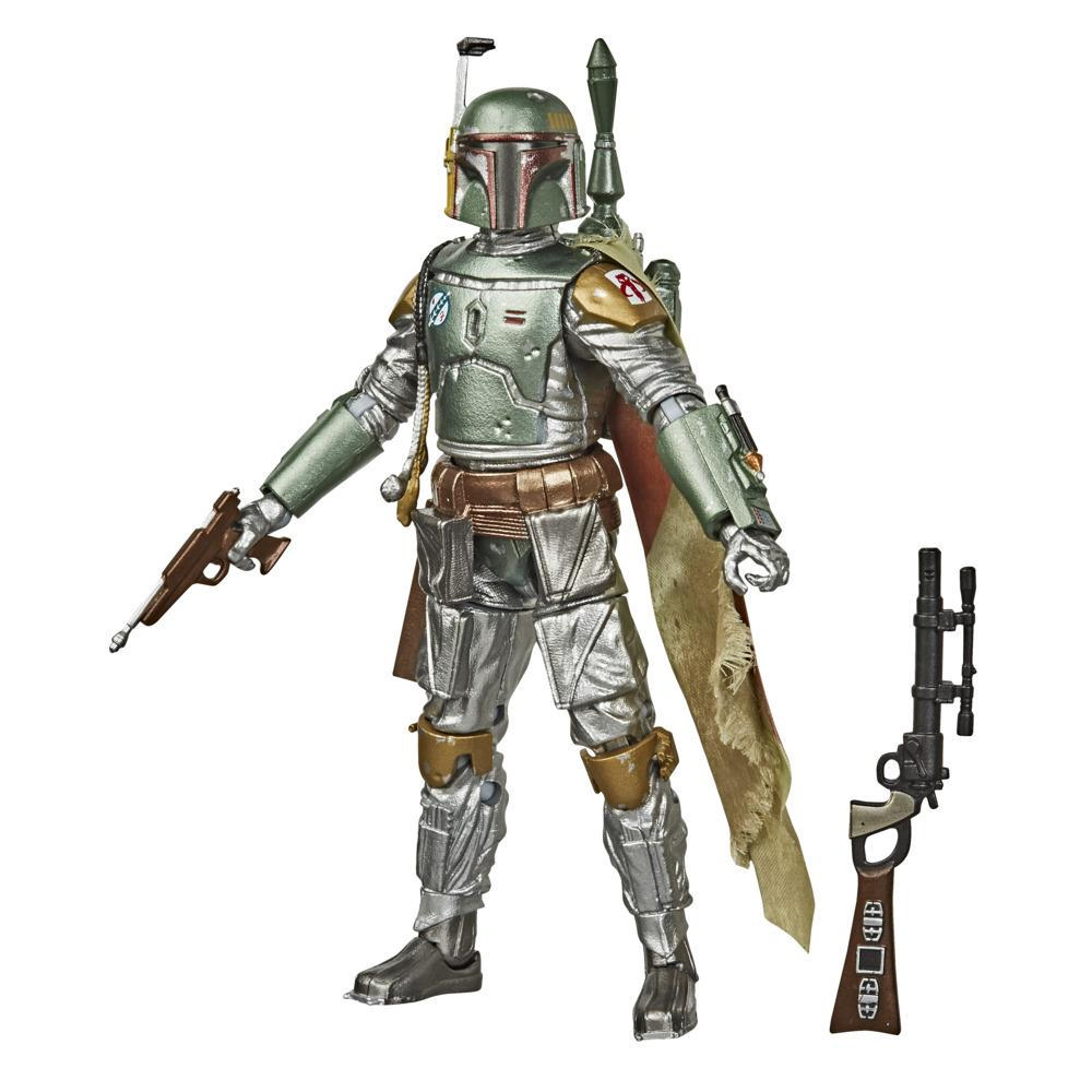 Star Wars The Black Series Carbonized Collection Boba Fett Toy 6-Inch-Scale Star Wars: The Empire Strikes Back Figure