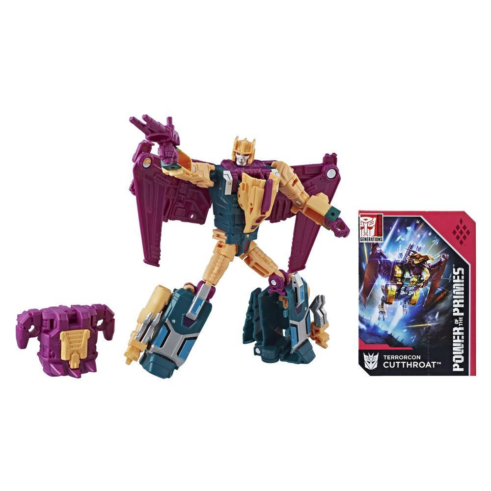 Transformers Generations Power of the Primes Deluxe Terrorcon Cutthroat