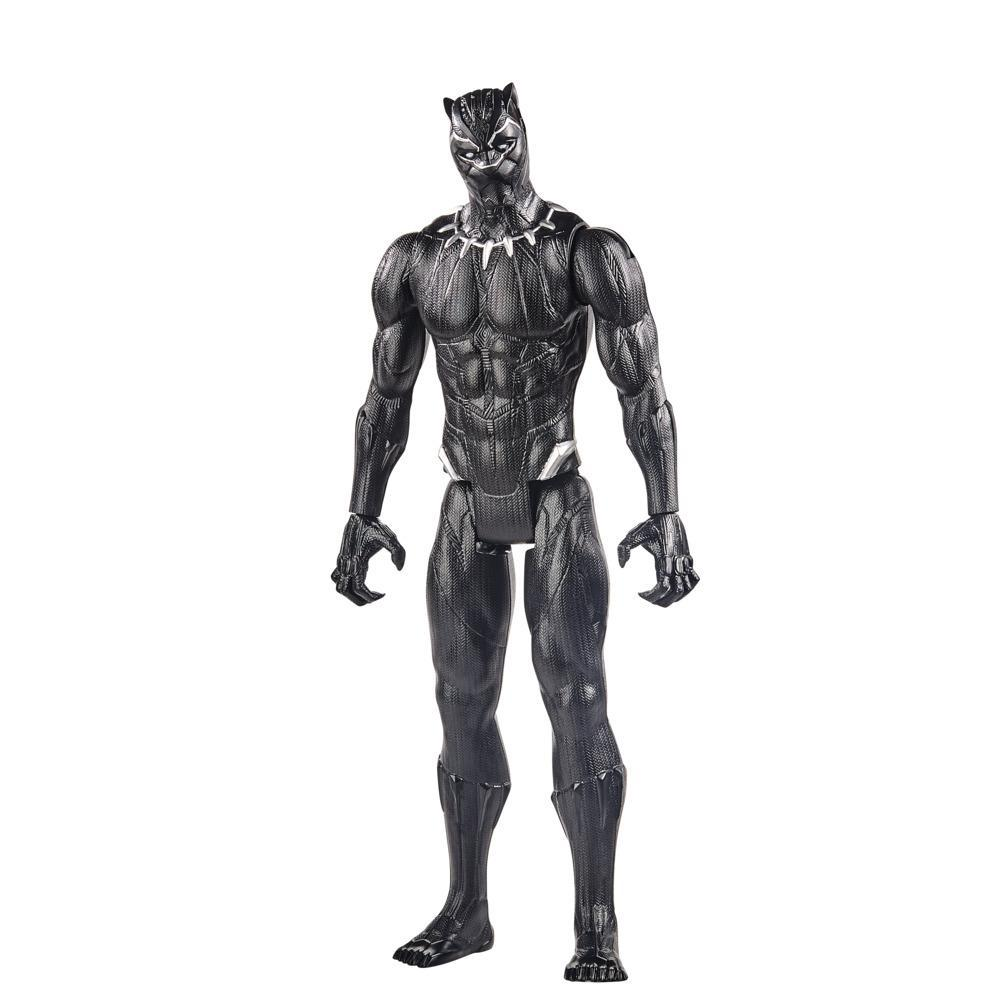 Marvel Avengers Titan Hero Series Black Panther Action Figure, 12-Inch Toy, For Kids Ages 4 And Up