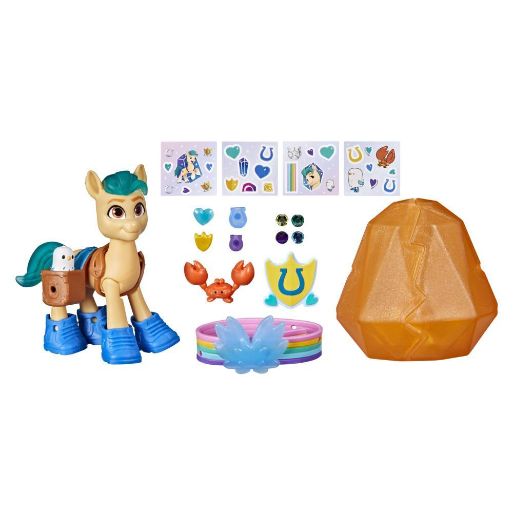 My Little Pony: A New Generation Movie Crystal Adventure Hitch Trailblazer- 3-Inch Pony Toy with Surprise Accessories