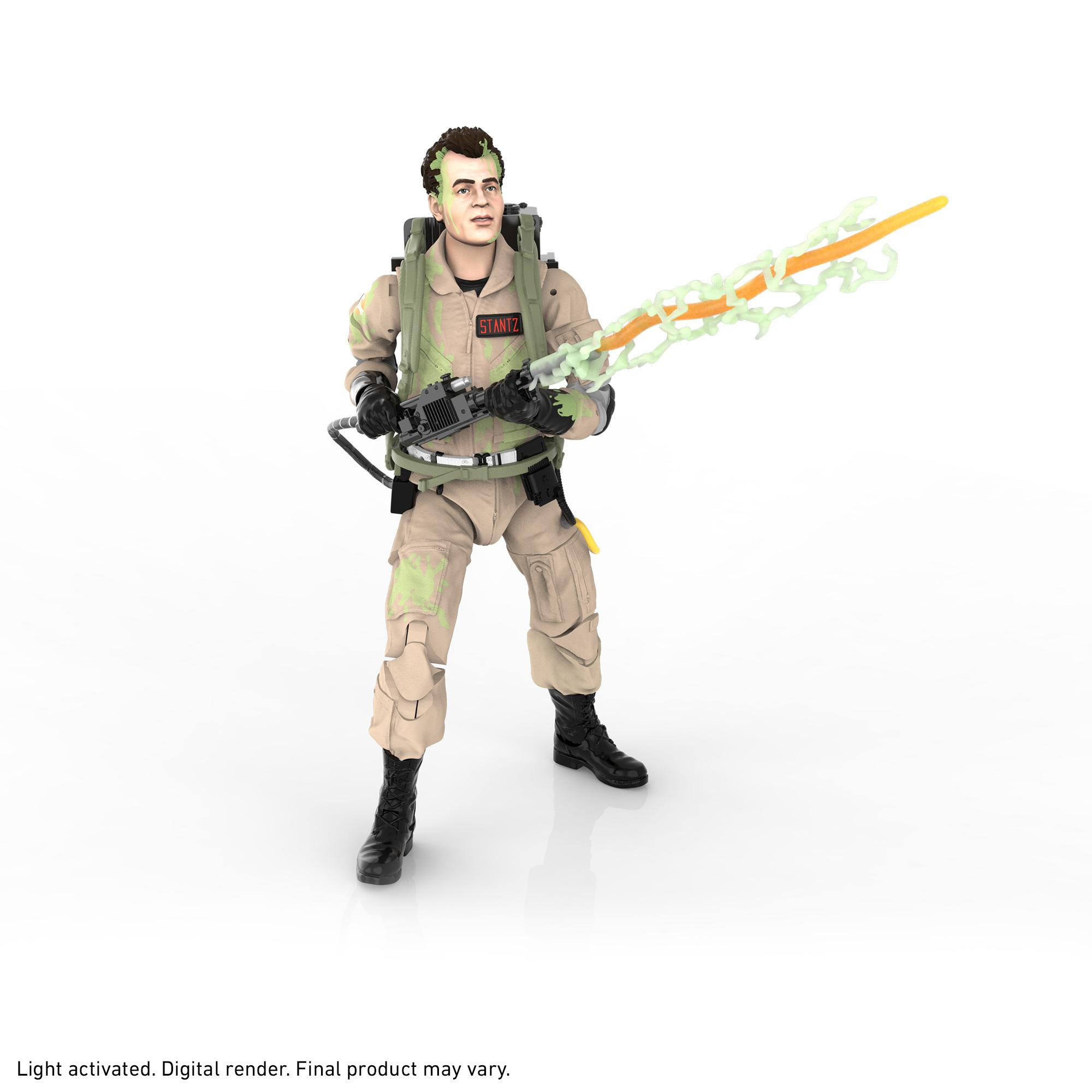 Ghostbusters Plasma Series Glow-in-the-Dark Ray Stantz Toy 6-Inch-Scale Collectible Classic 1984 Ghostbusters Figure